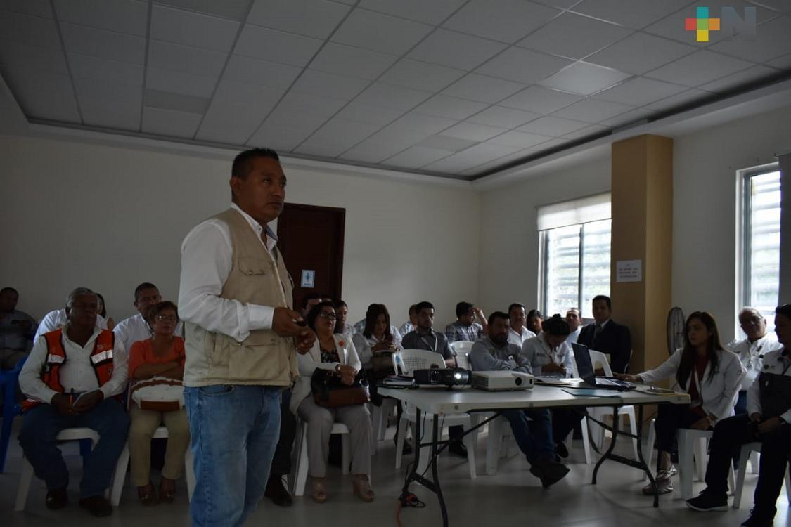 En Tantoyuca realizan IV reunión para prevención del dengue y atención clínica