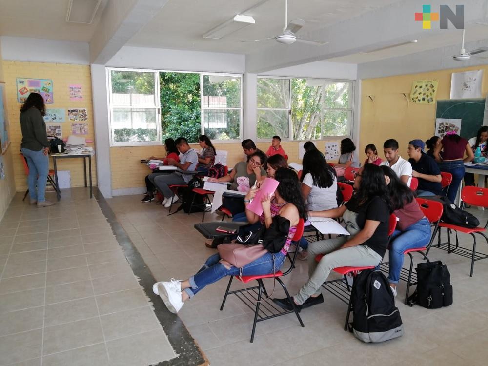Estudiantes del Tecnológico de Minatitlán retoman clases