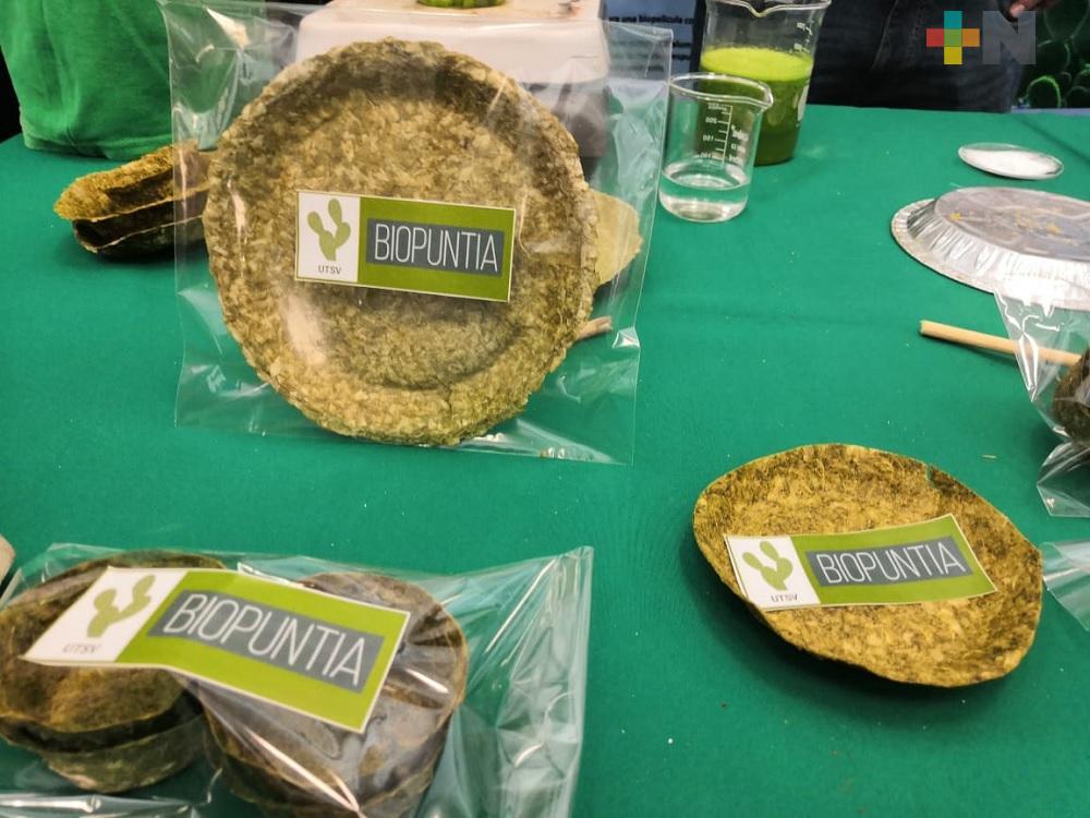 Estudiantes de Coatzacoalcos inician proyecto de plato a base de nopal