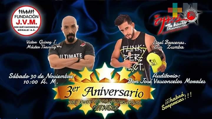 Celebrarán con magno evento tercer aniversario de Fitness Panamericano