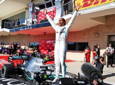 Bottas gana el GP de Estados Unidos y Hamilton hexacampeón de F1