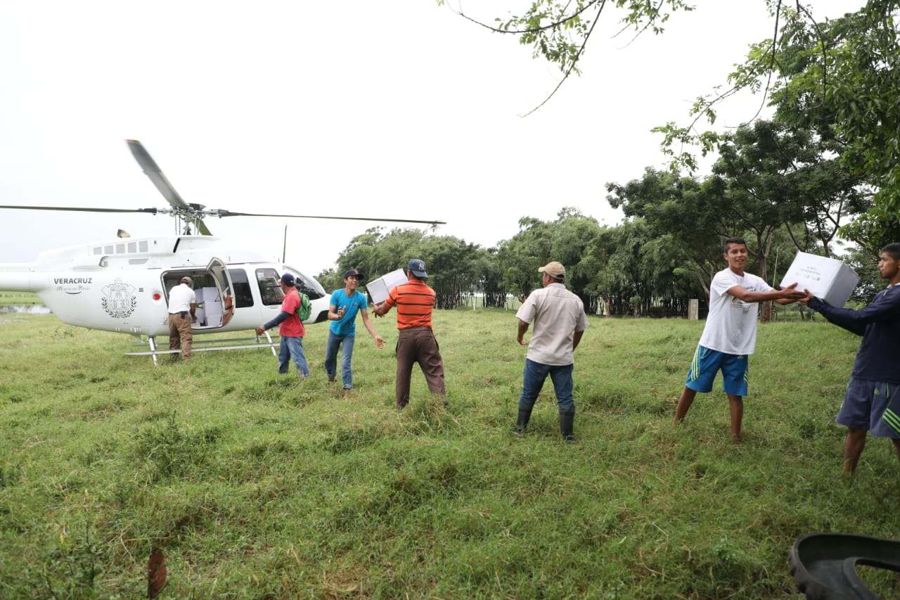 Pusimos las aeronaves al servicio del pueblo: Cuitláhuac García, durante mensaje a los veracruzanos