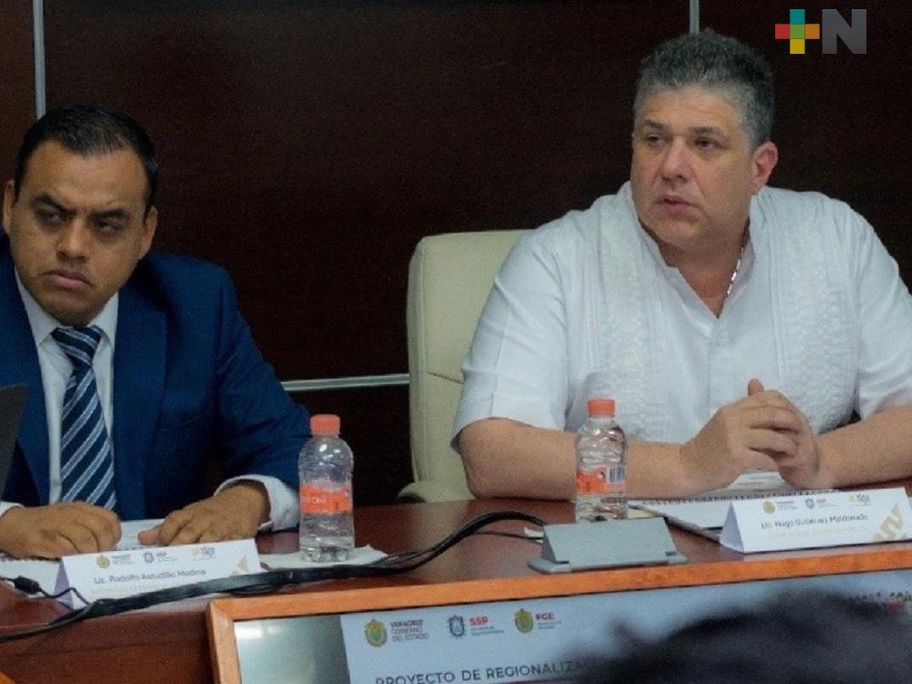 Establecen SSP y FGE acciones para combatir el secuestro en Veracruz