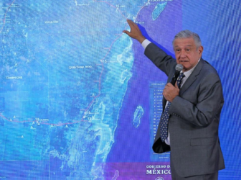 López Obrador anuncia consulta indígena por Tren Maya, proceso inicia este viernes