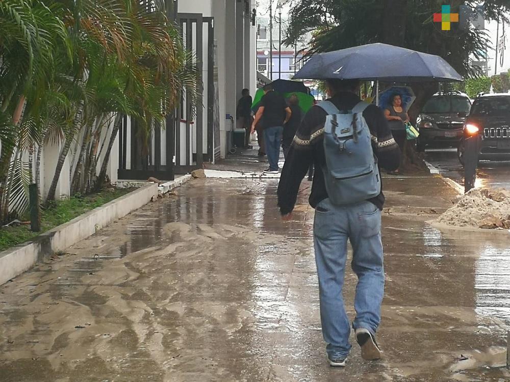 Se espera recuperación gradual de temperatura; lluvias por la tarde noche