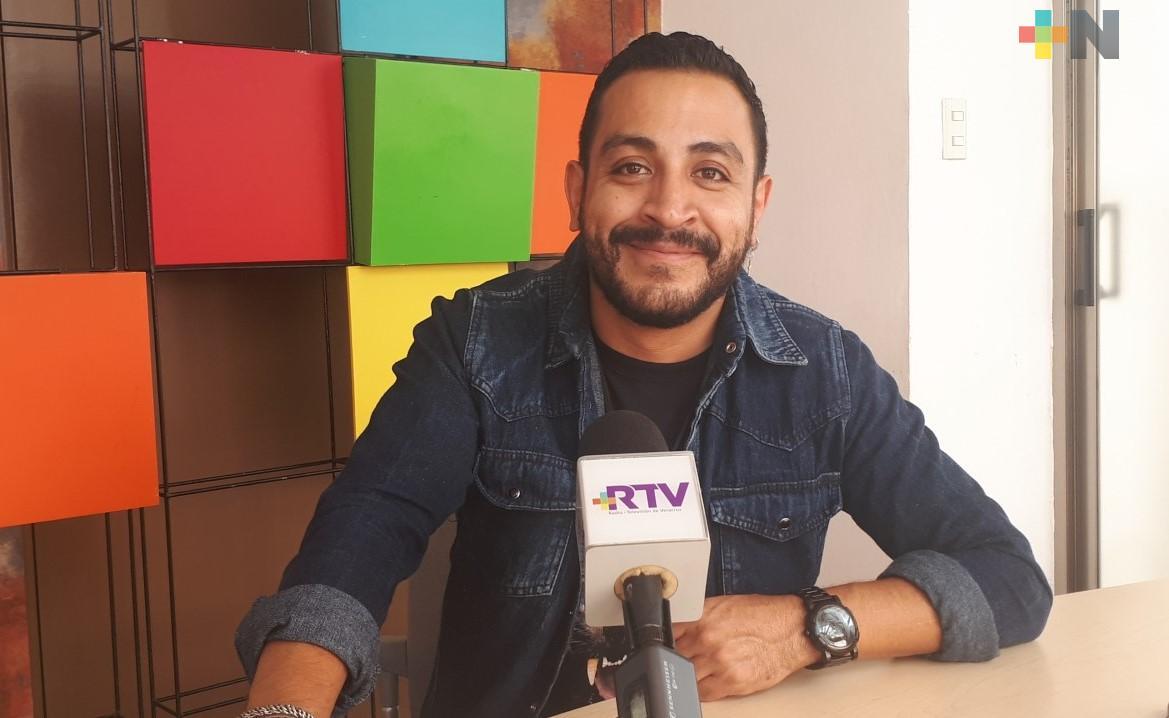 Luis Fernando Peña presentó el cortometraje «Elena», su primer trabajo como director