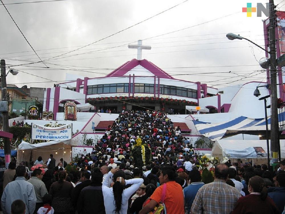 Quedan prohibidas las peregrinaciones en Xalapa durante las fiestas guadalupanas