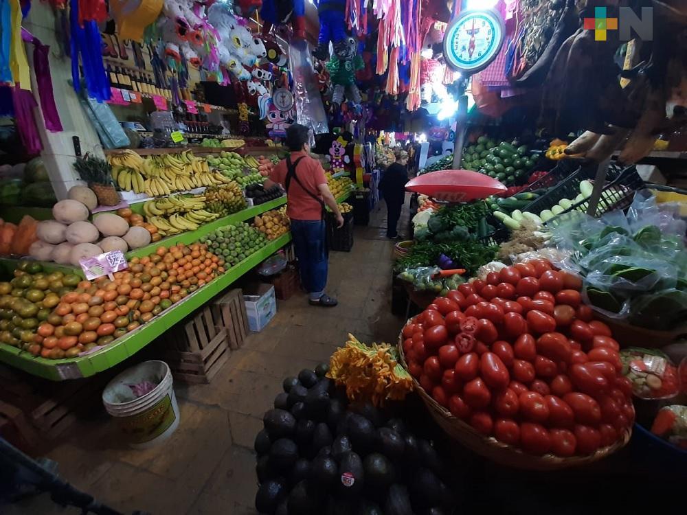 Pasada sequía afecta a comerciantes del mercado Hidalgo de Veracruz