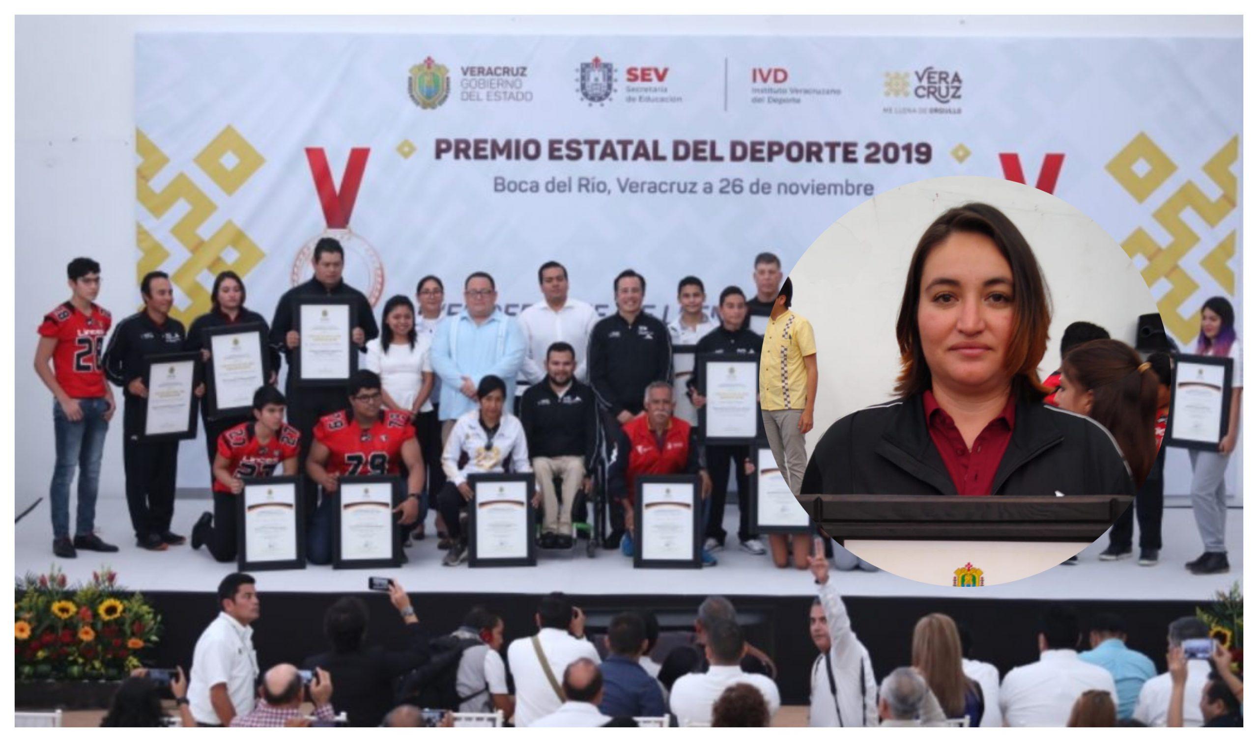 Fernanda Rodríguez se dice orgullosa por ganar Premio Estatal del Deporte
