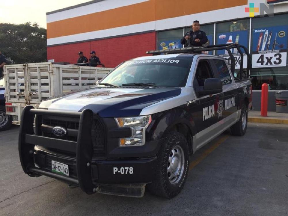 Tránsito municipal intensifica operativos para fiestas decembrinas en Tuxpan