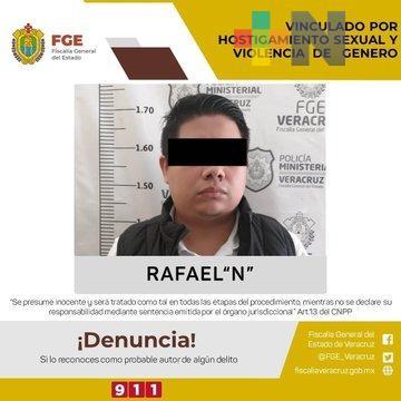 """Por hostigamiento sexual detienen a Rafael """"N""""; acosaba empleada aprovechándose  de su jerarquía en oficina pública"""