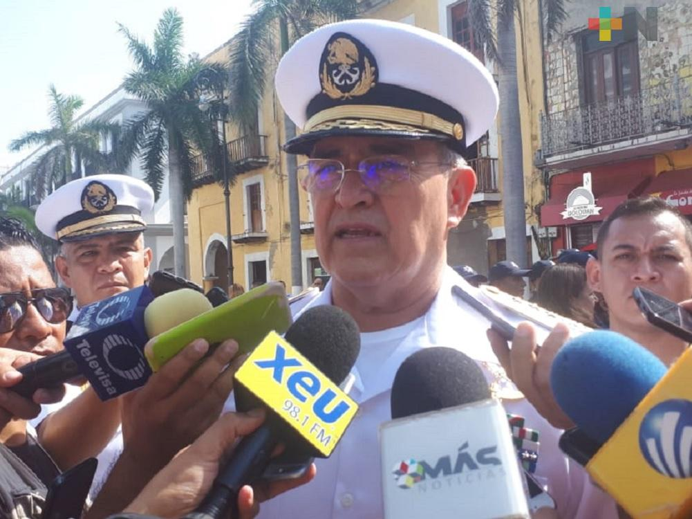 Más de 4 mil personas ha reclutado la Primera Región Naval para la Guardia Nacional