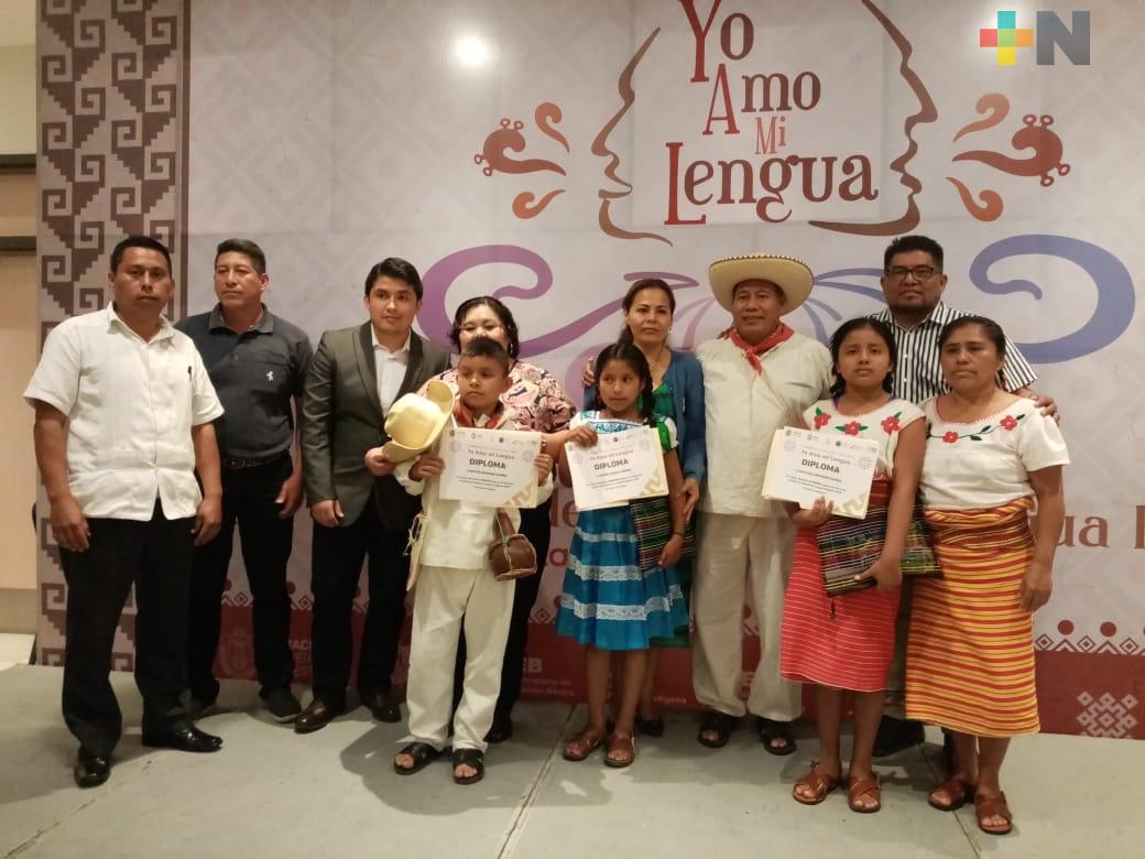 """Fomenta SEV arraigo cultural con el concurso de oratoria """"Yo amo mi lengua"""""""