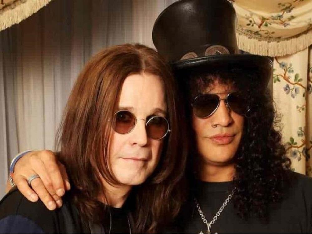 Slash colabora con Ozzy Osbourne en el tema «Straight to hell»
