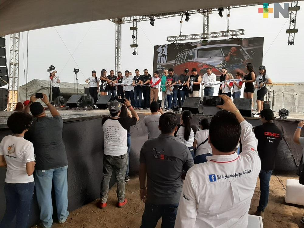 En Boca del Río inauguran el Cocktail d'Automobile