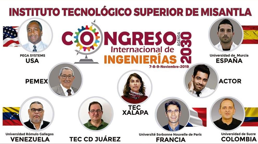 Tec de Misantla organiza Congreso Internacional de Ingenierías; invitan a Omar Chaparro