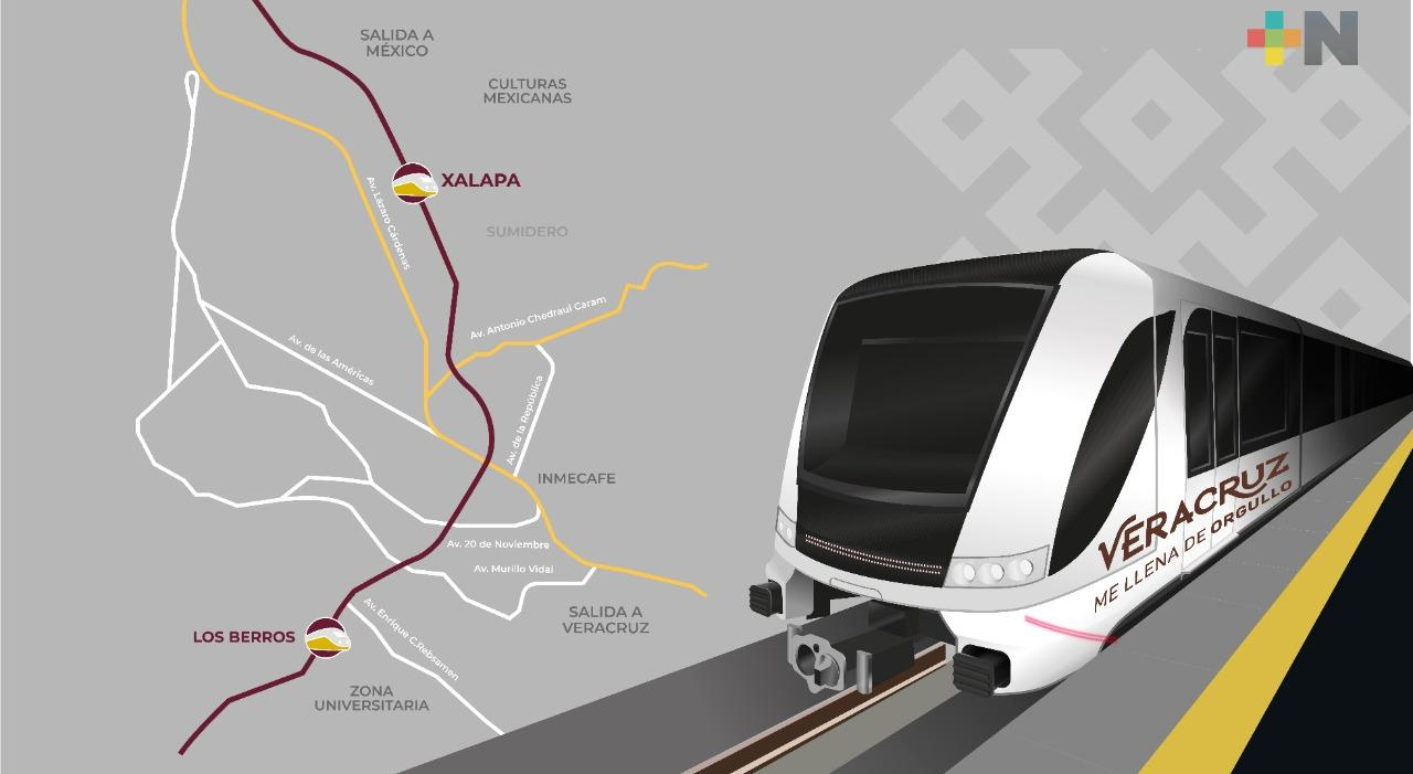 Tras una década de promesas, Cuitláhuac hace realidad el Tren Ligero de Xalapa