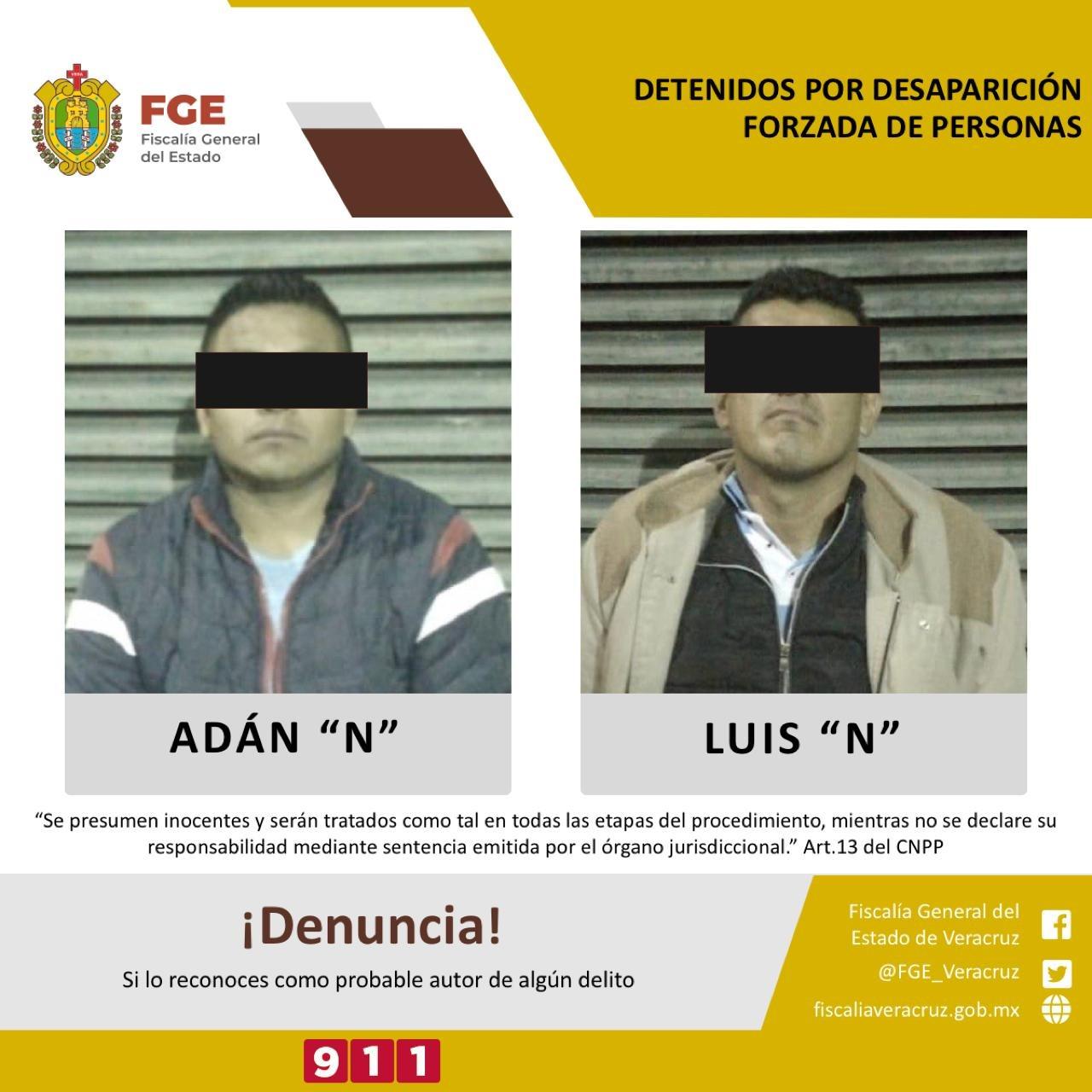 Detenidos dos policías municipales implicados en desaparición de personas
