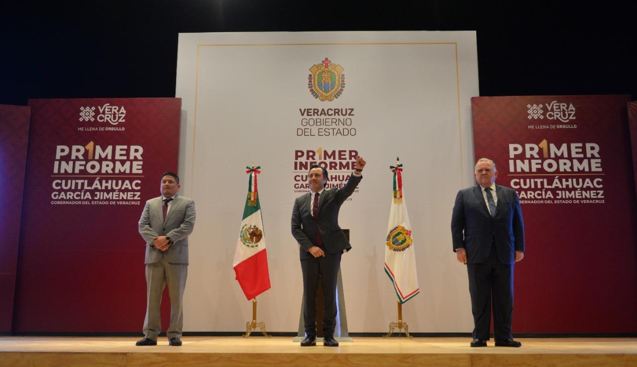 En Veracruz, no más gobiernos corruptos: Cuitláhuac García
