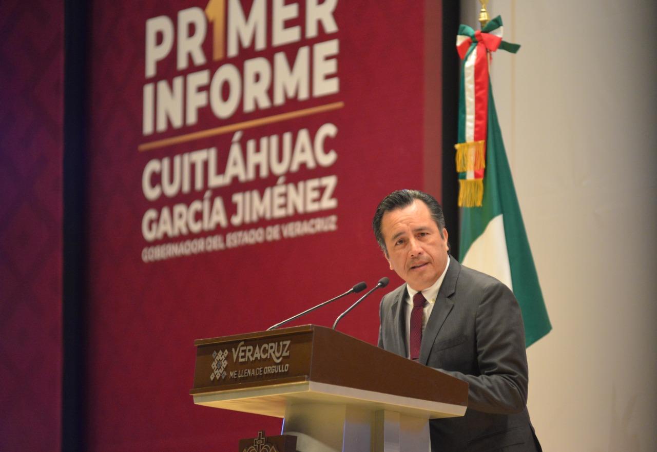 Se acabó la impunidad, responsables de sucesos lamentables en Veracruz están en la cárcel: Gobernador de Veracruz