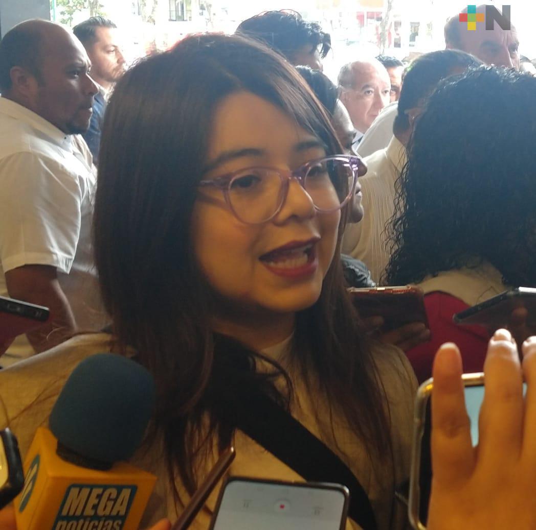 Mejorarán, aún más, las finanzas de Veracruz: Diputada federal