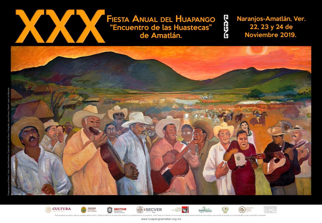 """Celebra Naranjos Amatlán su XXX Fiesta Anual del Huapango """"Encuentro de las Huastecas"""""""