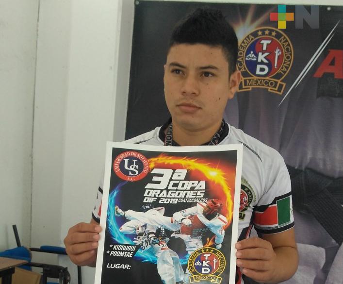 Convocan a Copa Dragones DIF de taekwondo