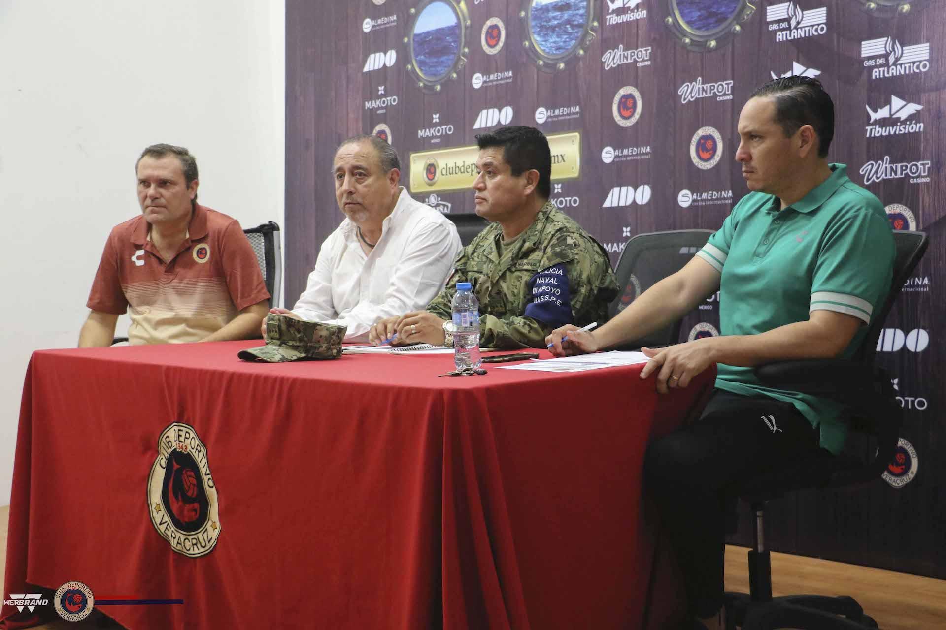 Alistan operativo de seguridad para el Veracruz vs América