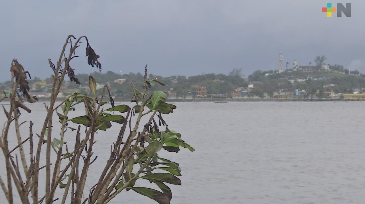 Sin afectaciones por FF 11 en el sur de Veracruz; el martes ingresará el FF 12