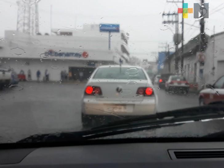 Para los próximos días se esperan lluvias en todo el estado de Veracruz