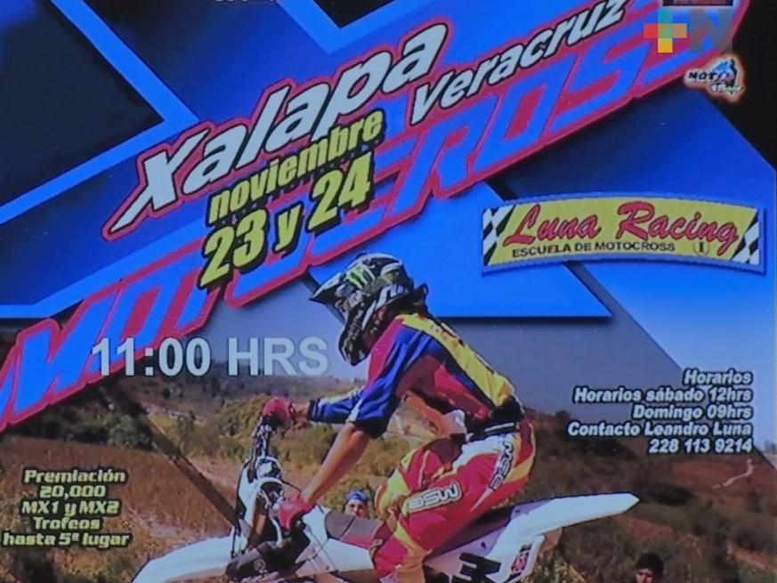 Xalapa, sede del 6° Campeonato Regional de Motocross