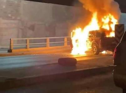 Nuevo Laredo vive jornada de balaceras, bloqueos y quema de vehículos