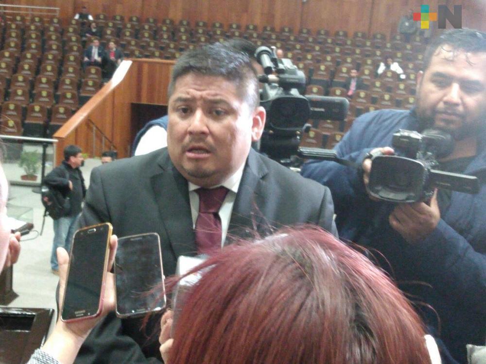 Construir consensos para llegar a acuerdos políticos y le vaya bien a Veracruz, objetivo del actual Congreso: Ríos Uribe