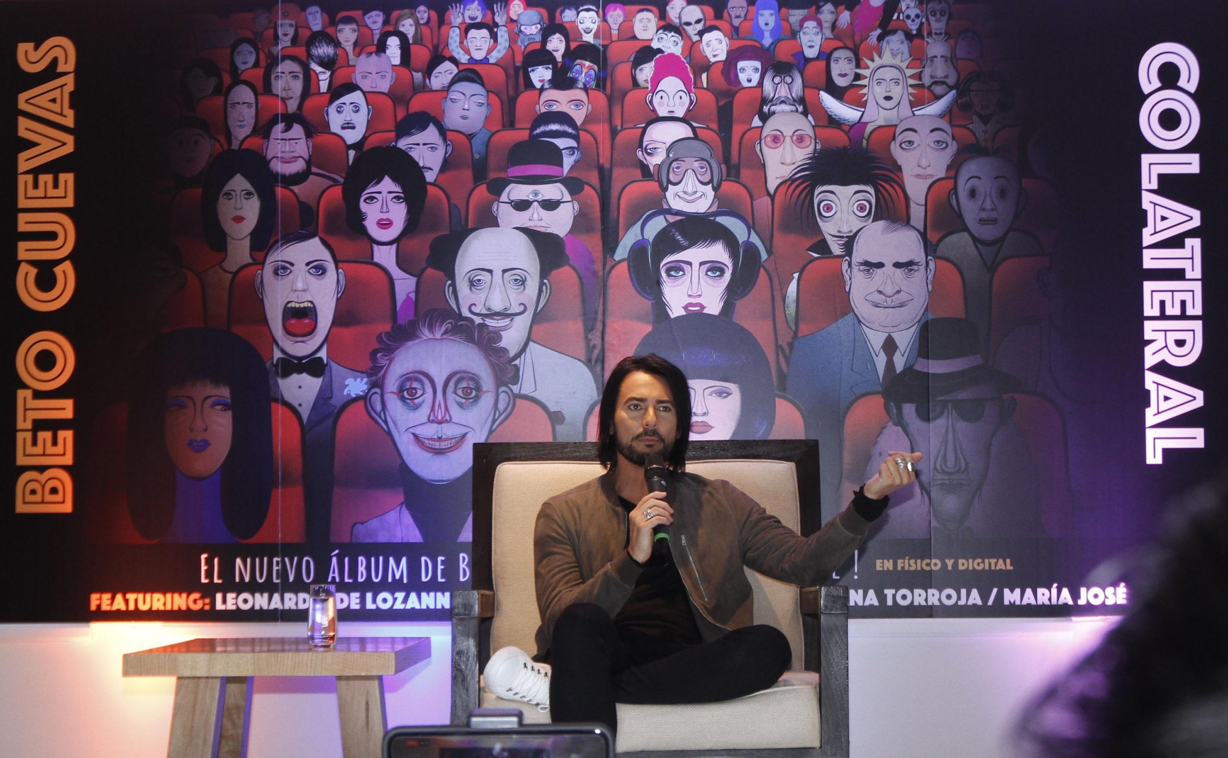 Beto Cuevas presentó «Colateral»