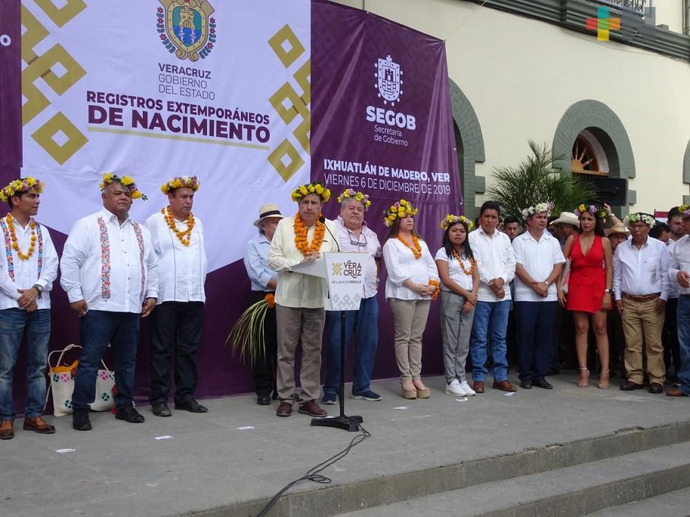 Alcaldes de Chalma e Ixhuatlán de Madero agradecen apoyo de gobernador de Veracruz