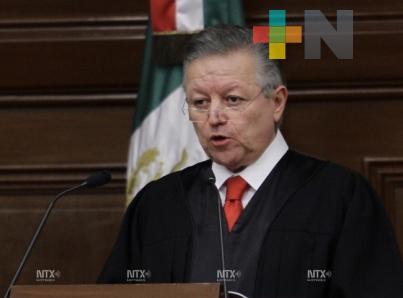 Corruptos y mediocres saldrán del Poder Judicial ministro