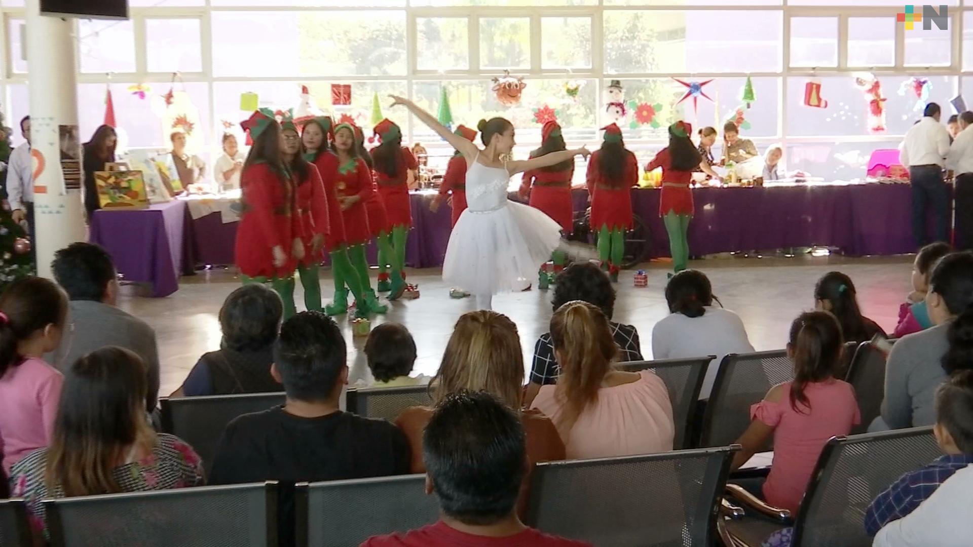 Realizan celebraciones navideñas en el CRISVER