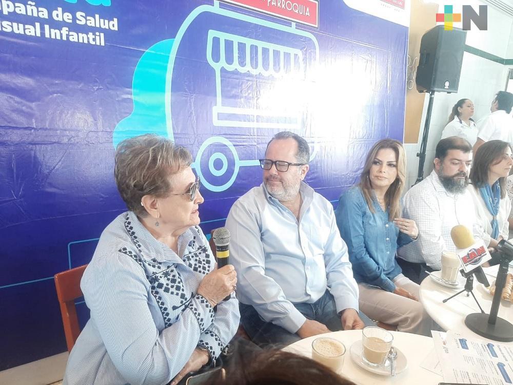 Con «Café a la vista» se donarán anteojos graduados a estudiantes de Boca del Río
