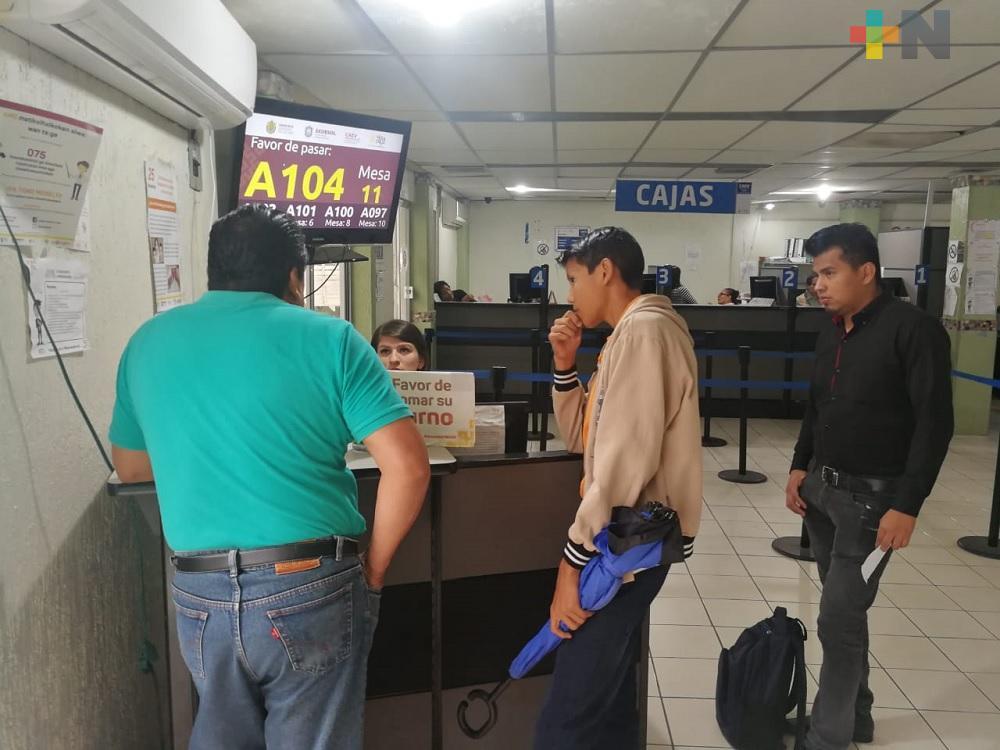 Con pago anual anticipado, CAEV Coatzacoalcos espera recaudar mayores recursos