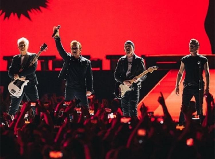 Conciertos de U2 generaron más mil mdd en una década