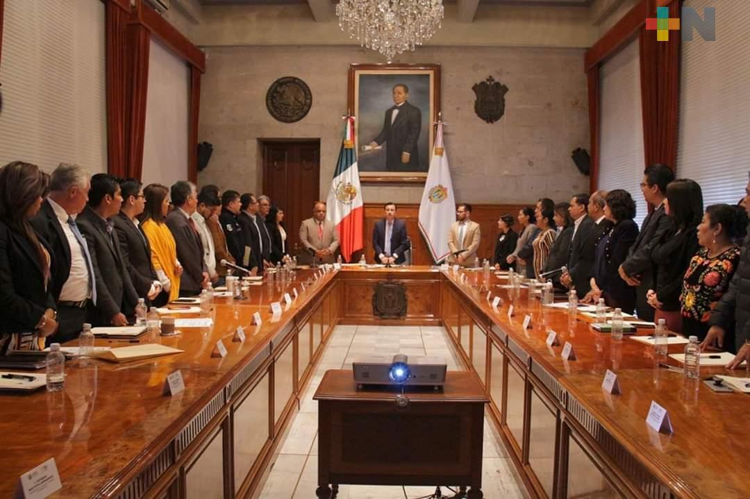 Consejo Estatal de Población del Estado de Veracruz muestra respuesta del Gobierno con grupos vulnerados: Eric Cisneros