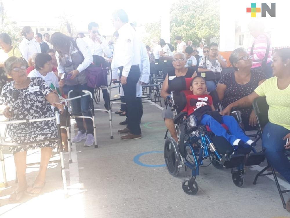 DIF estatal realiza cuarta entrega de apoyos funcionales en Veracruz-Boca del Río