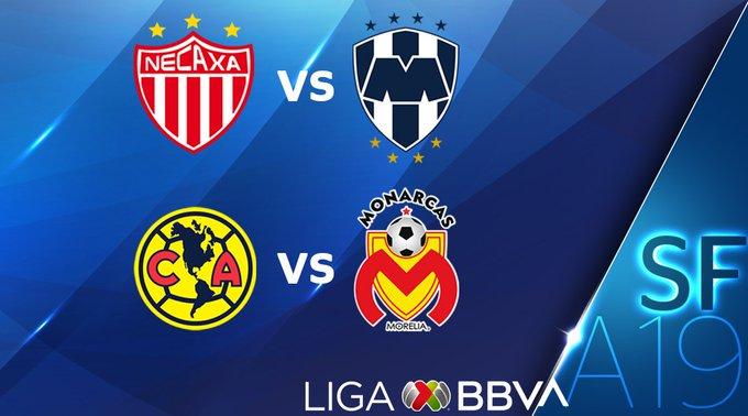 Listas fechas y horarios de semifinales de la Liga MX
