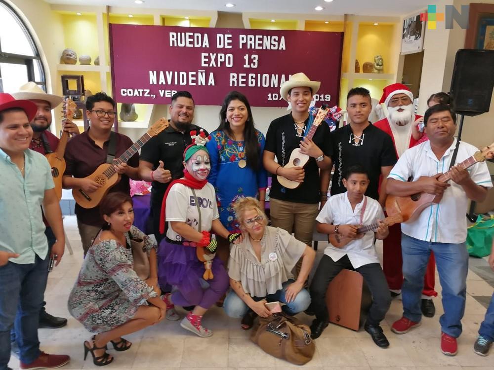 En Coatzacoalcos realizarán la 13 Expo Navideña Regional