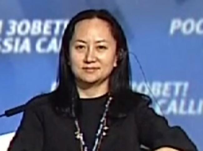 Cumple un año arresto de hija de fundador de Huawei en Canadá