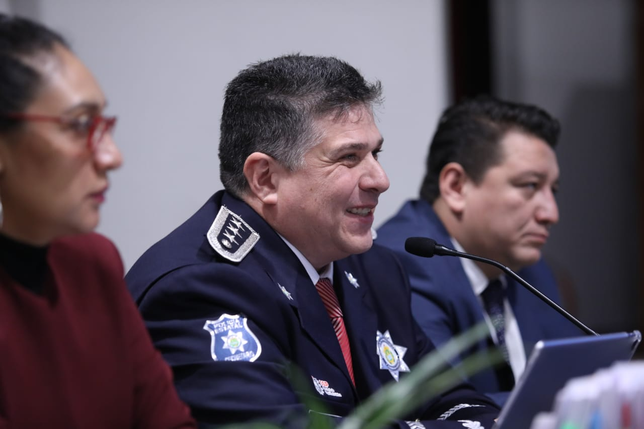 Cuitláhuac García dignifica a la Policía Estatal; mejoró sus sueldos y capacitación: SSP