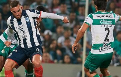 Monterrey eliminó al líder Santos y está en semifinales