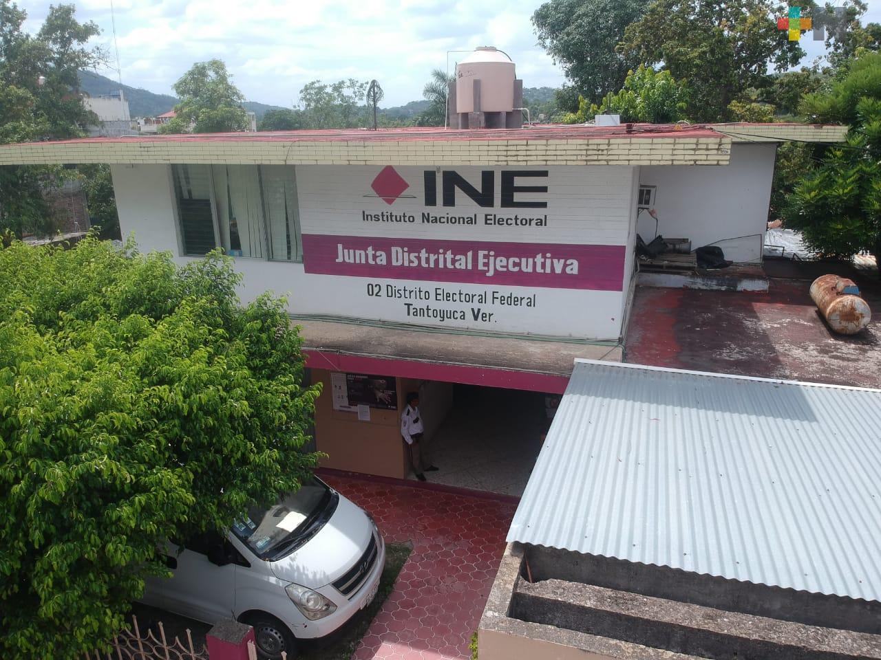 INE en Tantoyuca invita a realizar trámites de la credencial de elector