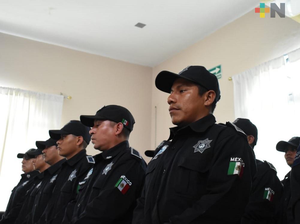 Ha mejorado la seguridad en Tantoyuca, reconoció comandante municipal Procopio Hernández