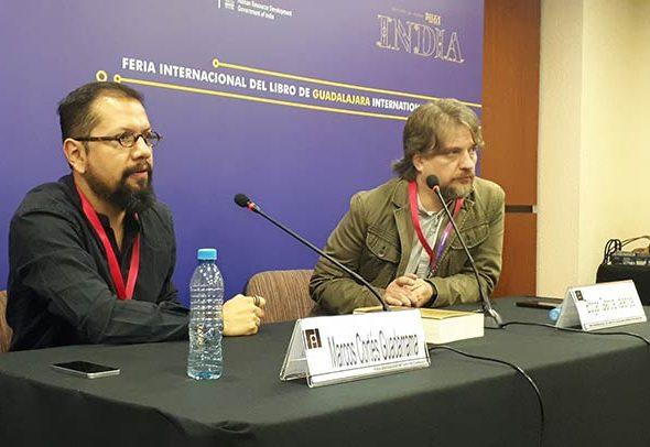 Editorial UV presentó Flos sanctorum en la FIL de Guadalajara